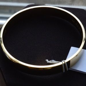 Kate Spade Gold Plated Bangle NWT